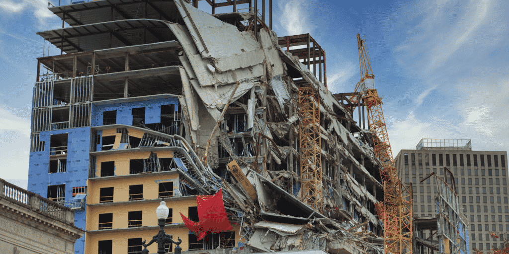 Building collapse catastrophe