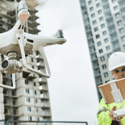 Drones are increasingly becoming a more utilized piece of construction technology