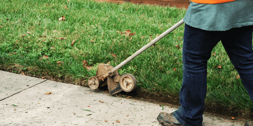 Landscaping professionals performing routine lawn maintenance can help prevent grass diseases