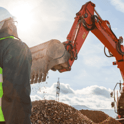 Excavation business insurance for construction contractor