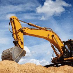 Excavation for site preparation & land improvement