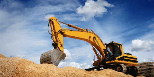Excavation for site preparation & land improvement