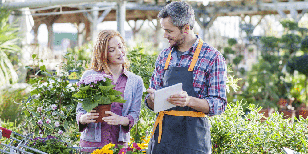 Garden centers can effectively market their gardening equipment and plants if they use the right digital tools