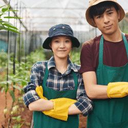 H-2A program garden center workers