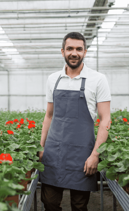 The agriculture & greenhouse growing industry can use H-2A program for legal labor