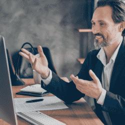 Broker focusing on insurance sales training