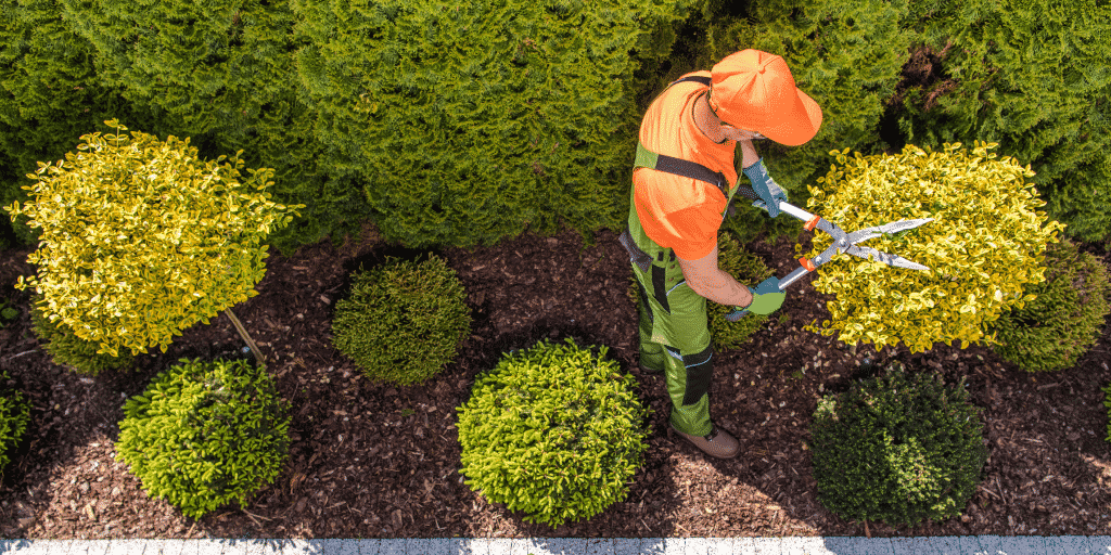 Landscaping insurance covers work defects