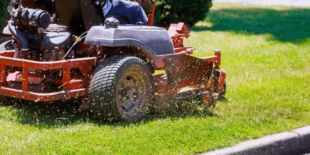 Landscaping insurance on equipment