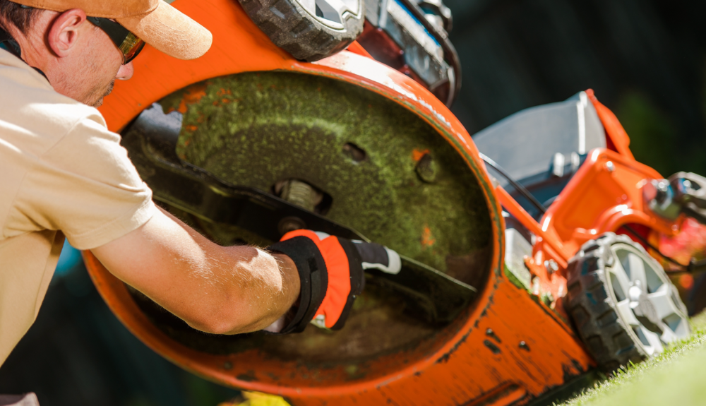 Landscaping equipment management is essential to keeping a lawn care business operational.