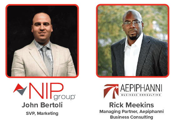 NIP Group along with Rick Meekins presents our Small Business Growth Strategy webinar on May 19th