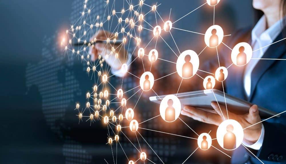 Insurance broker referral network
