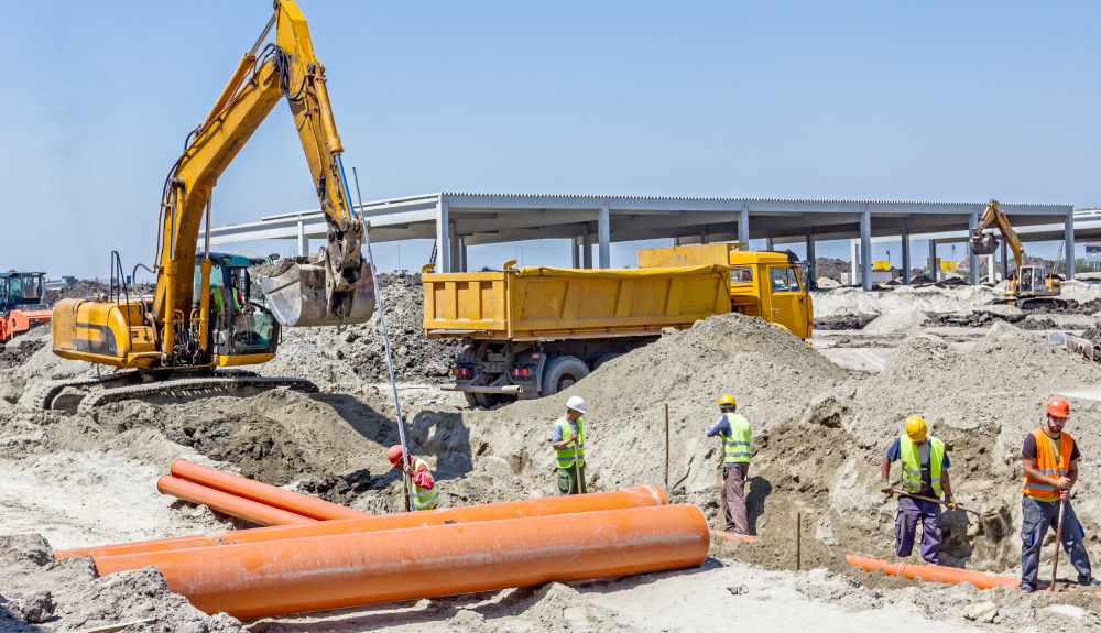 Excavation & trenching safety on a construction site