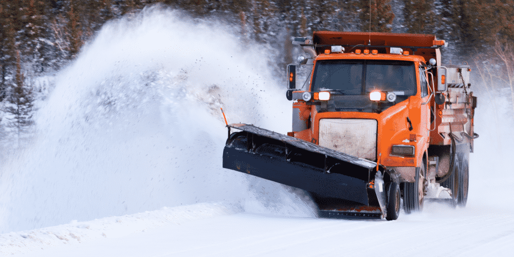 Snow plowing can be lucrative but carry high liability for landscaping companies