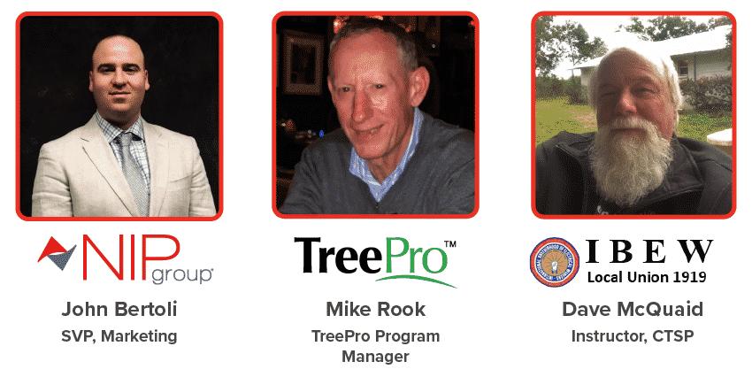 Utility Line Care & arborist webinar speakers March 2020
