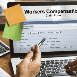 Workers' Compensation Insurance claim form